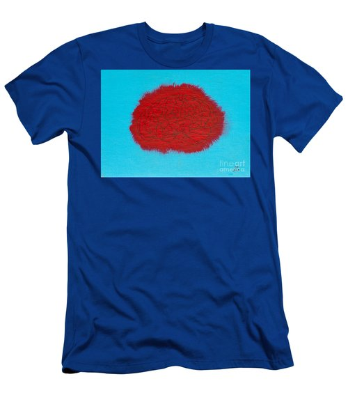 Brain Red Men's T-Shirt (Athletic Fit)