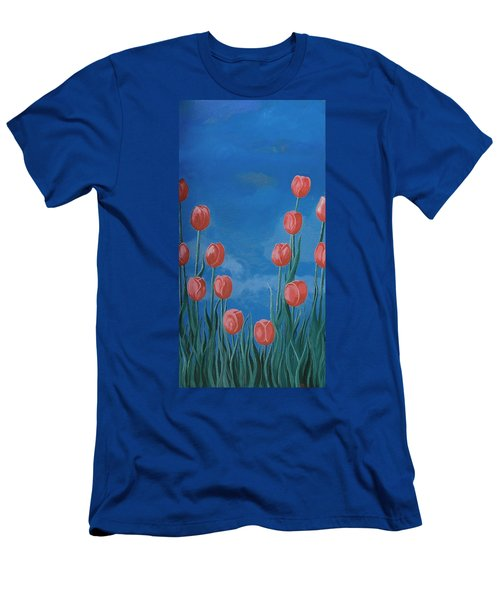 Breath Of Spring Men's T-Shirt (Athletic Fit)