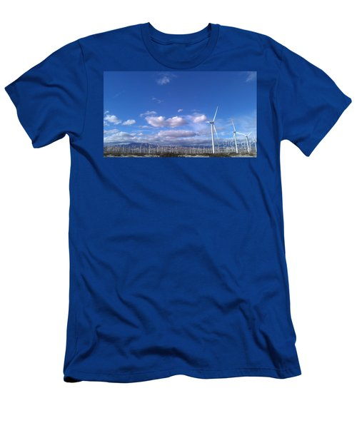 Men's T-Shirt (Slim Fit) featuring the photograph Breeze by Chris Tarpening