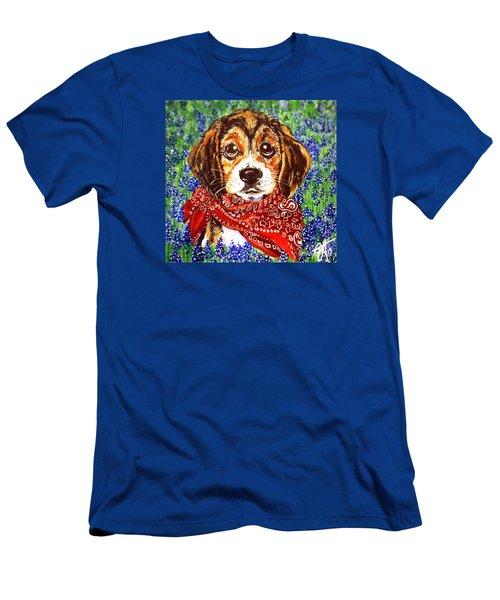 Buddy Men's T-Shirt (Slim Fit) by Jackie Carpenter