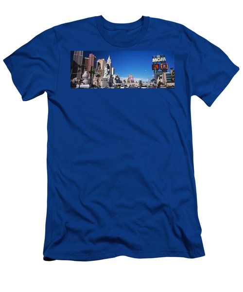 Buildings In A City, The Strip, Las Men's T-Shirt (Athletic Fit)