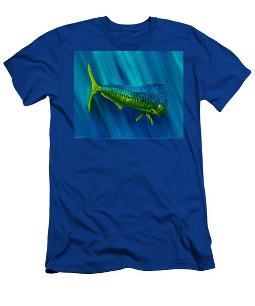 Bull Dolphin Men's T-Shirt (Athletic Fit)