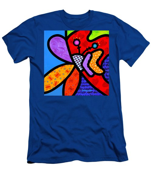 Butterfly Orchid Men's T-Shirt (Athletic Fit)