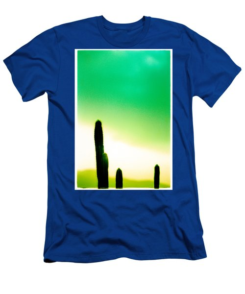 Cactus In The Morning Men's T-Shirt (Athletic Fit)