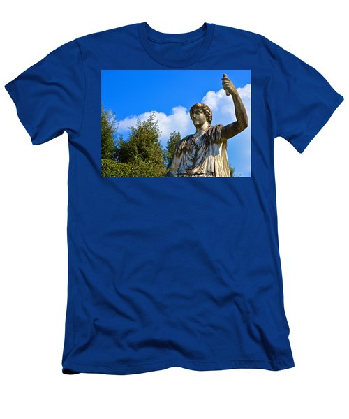 Caesar On Blue Sky Men's T-Shirt (Athletic Fit)