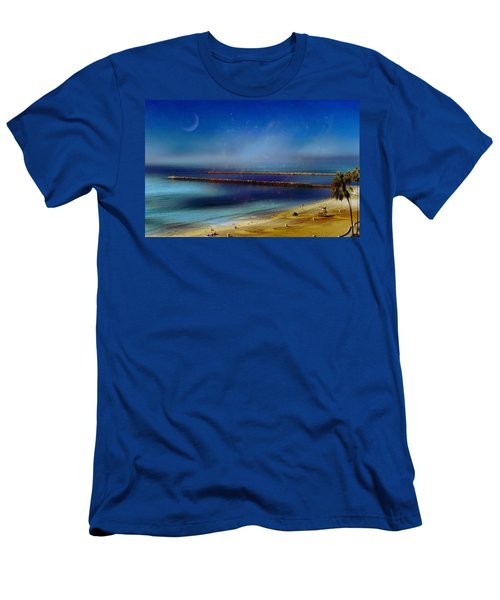 California Dreaming Men's T-Shirt (Slim Fit) by Tammy Espino