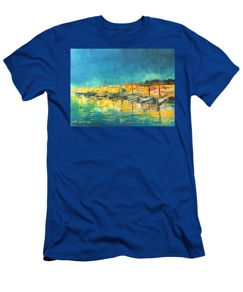 Cannes By Night Men's T-Shirt (Athletic Fit)