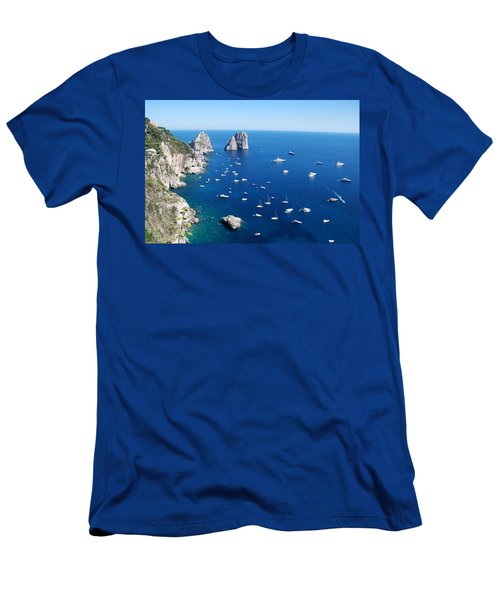 Capri  Men's T-Shirt (Athletic Fit)