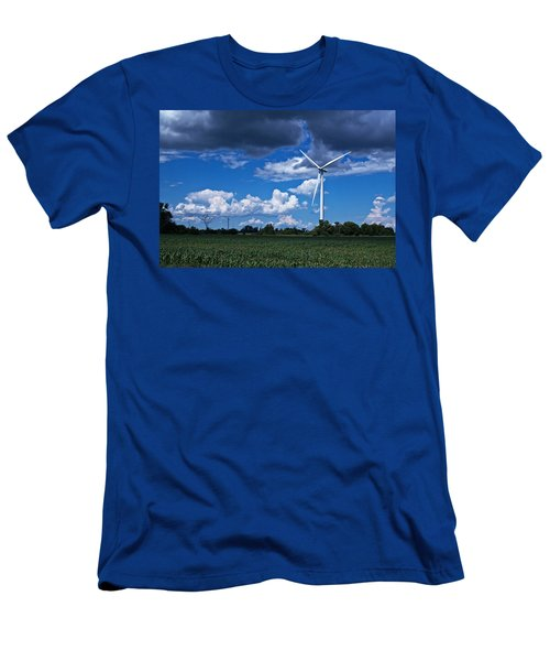 Capture The Wind Men's T-Shirt (Athletic Fit)
