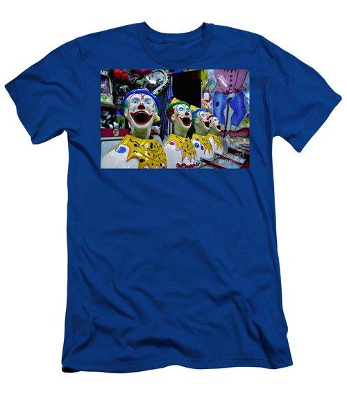 Carnival Clowns Men's T-Shirt (Athletic Fit)