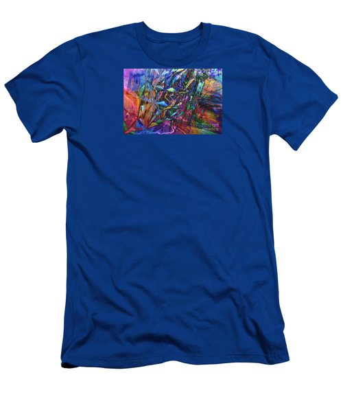 Men's T-Shirt (Slim Fit) featuring the photograph Carnival by Nareeta Martin