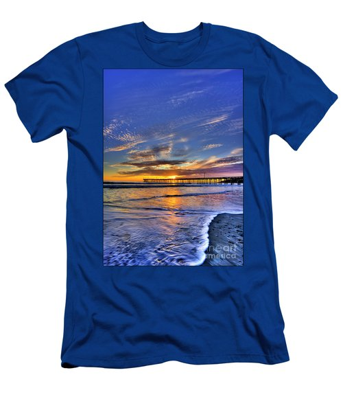 Cayucos Sunset Men's T-Shirt (Athletic Fit)