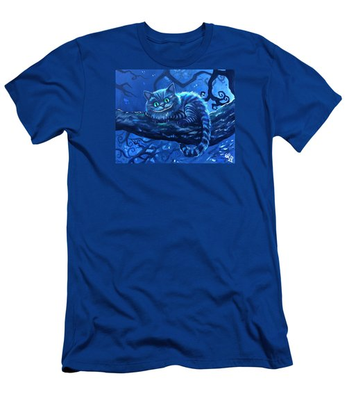 Cheshire Cat Men's T-Shirt (Slim Fit) by Tom Carlton