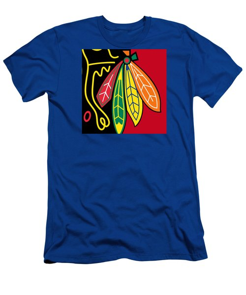 Chicago Blackhawks 2 Men's T-Shirt (Athletic Fit)