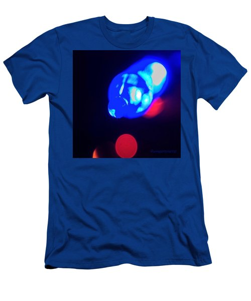 Christmas In Blue Men's T-Shirt (Athletic Fit)