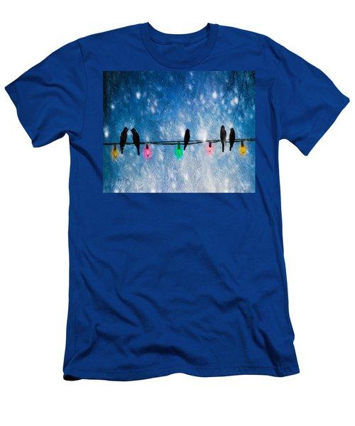 Christmas Lights Men's T-Shirt (Athletic Fit)
