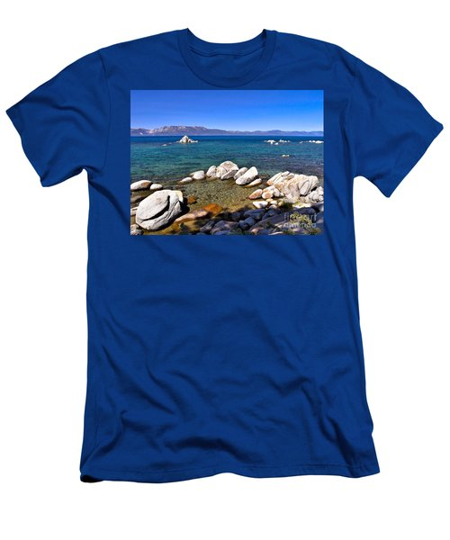 Clarity - Lake Tahoe Men's T-Shirt (Athletic Fit)