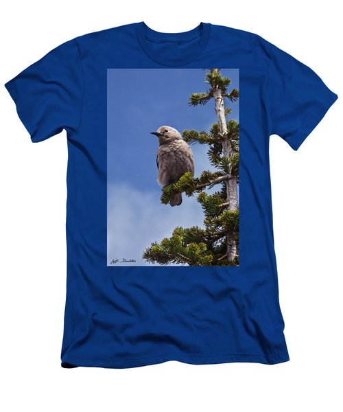 Clark's Nutcracker In A Fir Tree Men's T-Shirt (Athletic Fit)