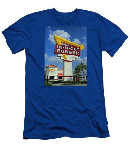 Classic Cali Burger 1.1 Men's T-Shirt (Slim Fit) by Stephen Stookey