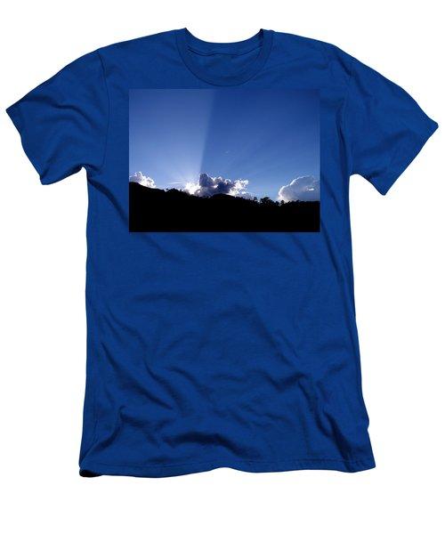 Cloud Rays Men's T-Shirt (Athletic Fit)