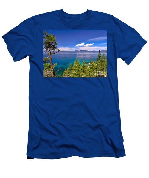 Clouds And Silence - Lake Tahoe Men's T-Shirt (Athletic Fit)