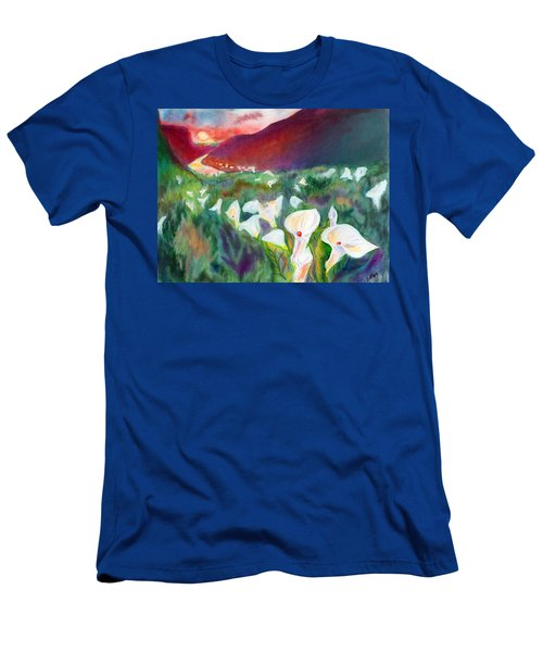 Coastal Callas Men's T-Shirt (Slim Fit) by C Sitton