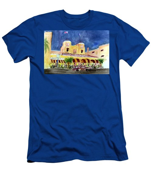 Colony Hotel In Delray Beach Men's T-Shirt (Athletic Fit)