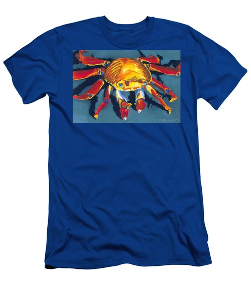 Colorful Crab Men's T-Shirt (Athletic Fit)