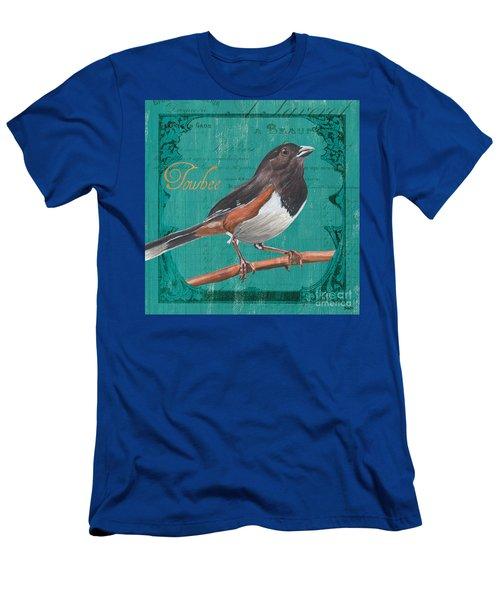Colorful Songbirds 3 Men's T-Shirt (Athletic Fit)