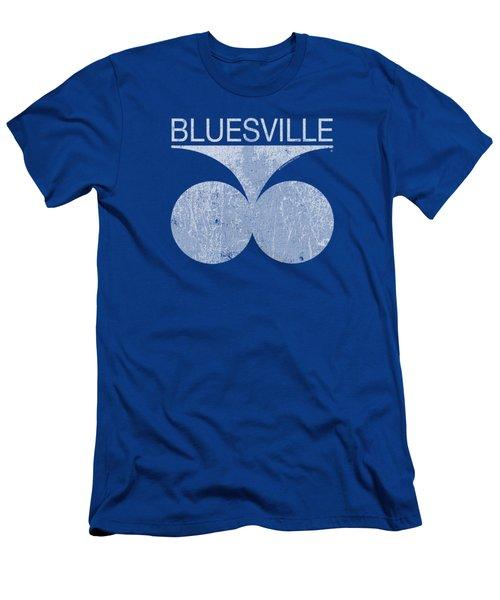 Concord Music - Bluesville Distress Men's T-Shirt (Athletic Fit)