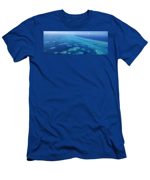 Coral Reef In The Sea, Belize Barrier Men's T-Shirt (Athletic Fit)