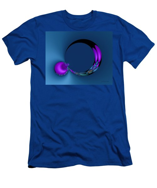 Crescent Moons Men's T-Shirt (Slim Fit) by Judi Suni Hall