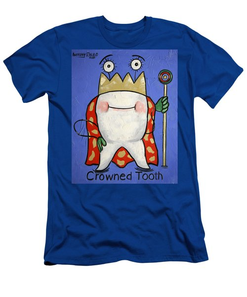 Crowned Tooth Men's T-Shirt (Athletic Fit)