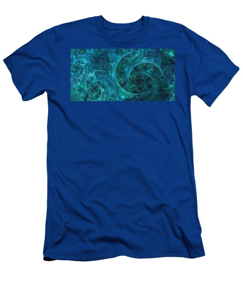 Crystal Nebula-ii Men's T-Shirt (Athletic Fit)