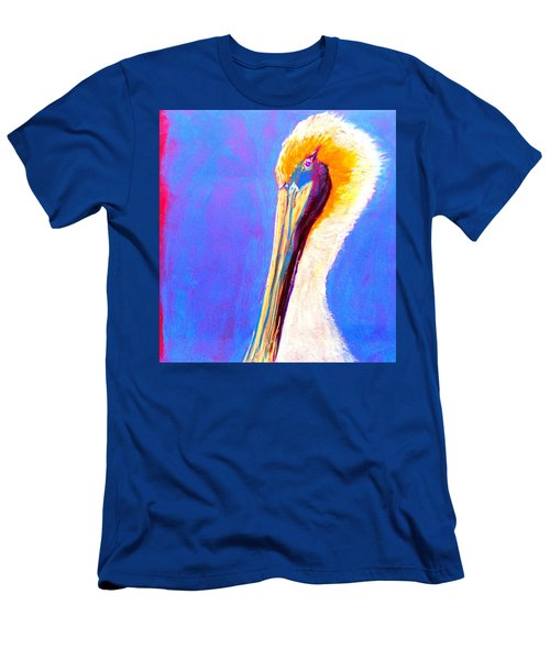 Cute Pelican Men's T-Shirt (Athletic Fit)
