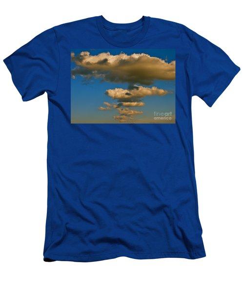 Dali-like Men's T-Shirt (Slim Fit) by Joy Hardee