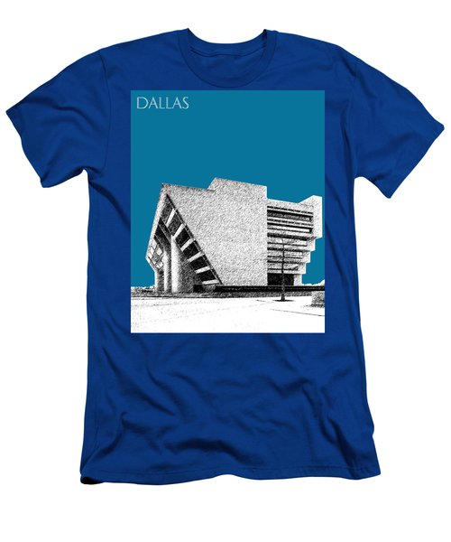 Dallas Skyline City Hall - Steel Men's T-Shirt (Athletic Fit)