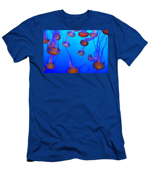 Dance Of The Jellyfish Men's T-Shirt (Athletic Fit)