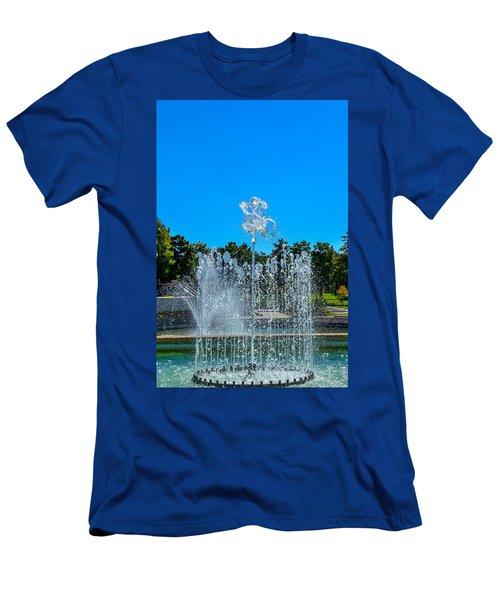 Dancing Fountain Men's T-Shirt (Athletic Fit)