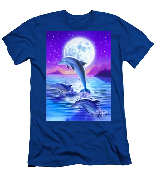 Day Of The Dolphin Men's T-Shirt (Athletic Fit)