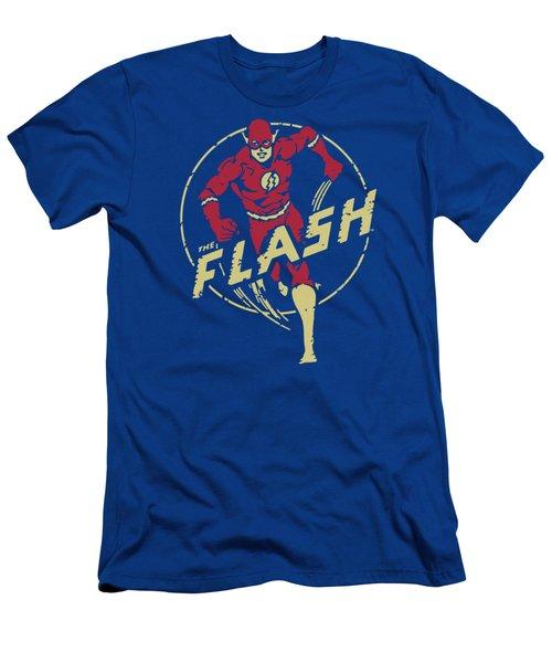 Dc - Flash Comics Men's T-Shirt (Athletic Fit)