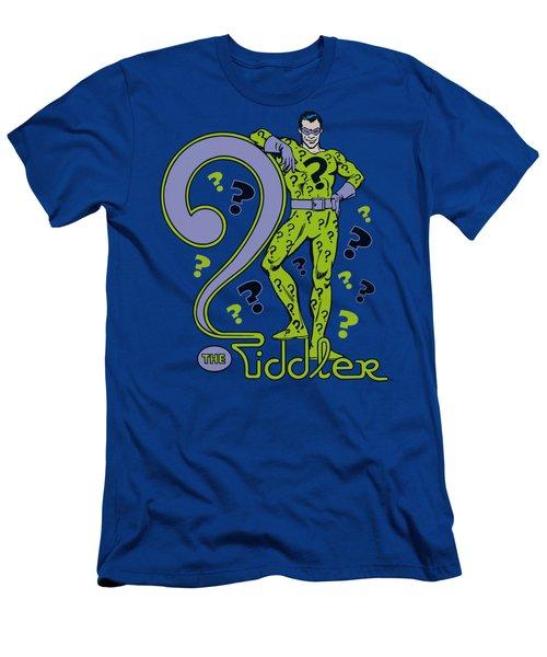 Dc - The Riddler Men's T-Shirt (Athletic Fit)