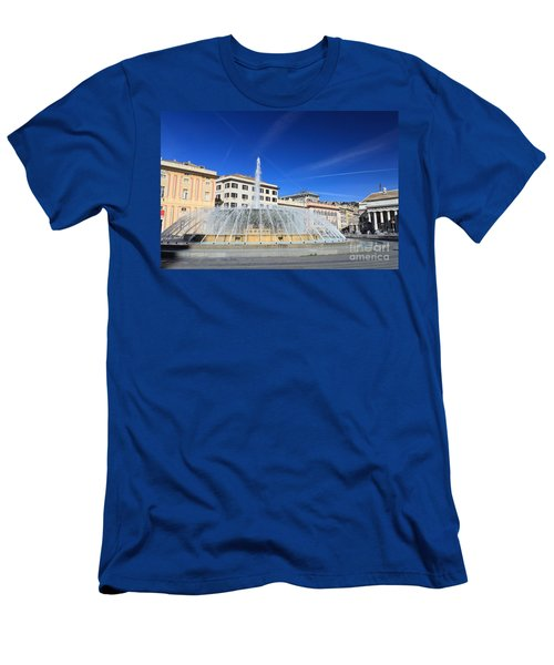 De Ferrari Square - Genova Men's T-Shirt (Athletic Fit)