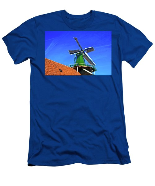 Men's T-Shirt (Slim Fit) featuring the photograph De Huisman Spice Mill by Jonah  Anderson