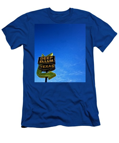 Deep Ellum Men's T-Shirt (Slim Fit) by Mark Alder