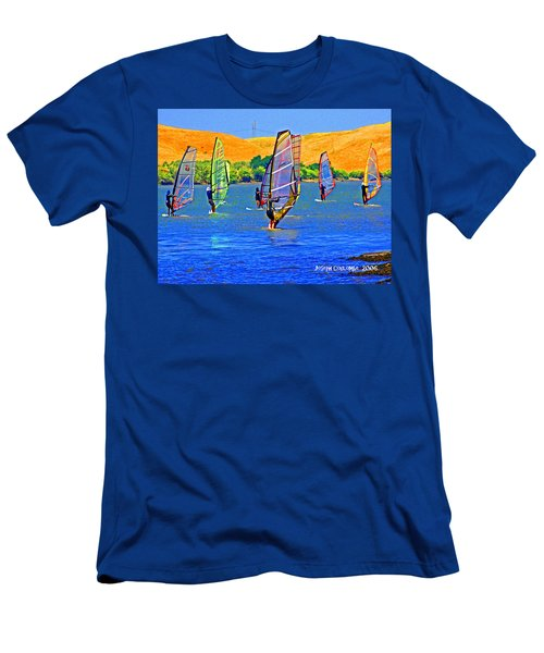 Delta Water Wings Men's T-Shirt (Athletic Fit)