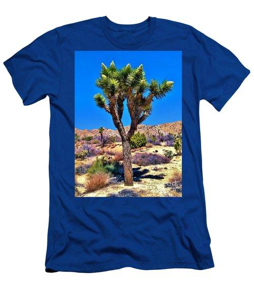 Desert Spring Men's T-Shirt (Slim Fit) by Angela J Wright