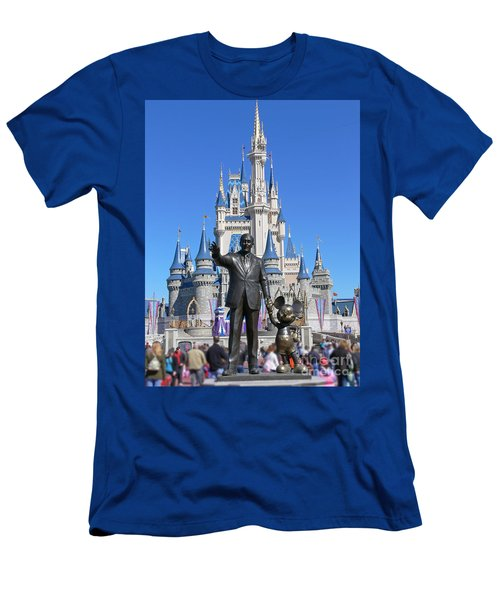 Disney And Mickey Men's T-Shirt (Athletic Fit)