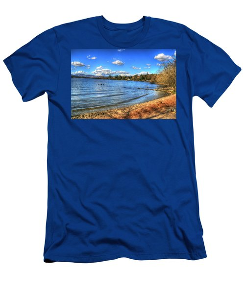 Men's T-Shirt (Slim Fit) featuring the photograph Down By The Riverside by Doc Braham