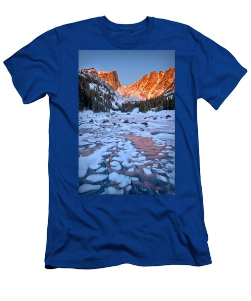 Dream Lake - Rocky Mountain National Park Men's T-Shirt (Athletic Fit)